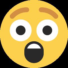 Astonished Face on Skype Emoticons 1.2