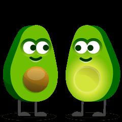 Avocado on Skype Emoticons 1.2