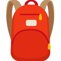 Backpack on Skype Emoticons 1.2
