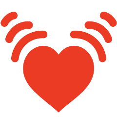 Beating Heart on Skype Emoticons 1.2