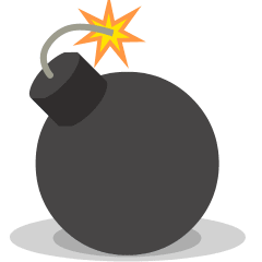 Bomb on Skype Emoticons 1.2