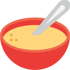 Bowl with Spoon on Skype Emoticons 1.2