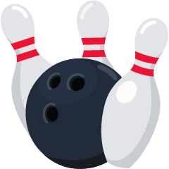 Bowling on Skype Emoticons 1.2