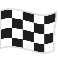 Chequered Flag on Skype Emoticons 1.2