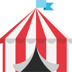 Circus Tent on Skype Emoticons 1.2