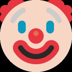 Clown Face on Skype Emoticons 1.2