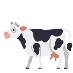 Cow on Skype Emoticons 1.2