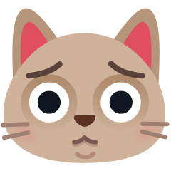 Crying Cat on Skype Emoticons 1.2