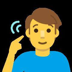 Deaf Man on Skype Emoticons 1.2
