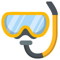 Diving Mask on Skype Emoticons 1.2