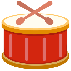 Drum on Skype Emoticons 1.2