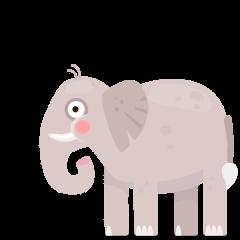 Elephant on Skype Emoticons 1.2