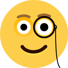 Face with Monocle on Skype Emoticons 1.2