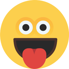 Face with Tongue on Skype Emoticons 1.2
