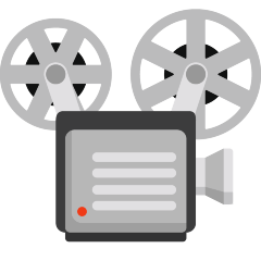 Film Projector on Skype Emoticons 1.2