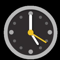 Five O'Clock on Skype Emoticons 1.2