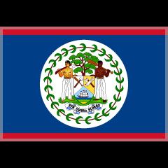 Flag: Belize on Skype Emoticons 1.2