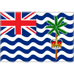 Flag: British Indian Ocean Territory on Skype Emoticons 1.2