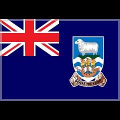 Flag: Falkland Islands on Skype Emoticons 1.2