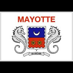 Flag: Mayotte on Skype Emoticons 1.2