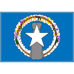 Flag: Northern Mariana Islands on Skype Emoticons 1.2
