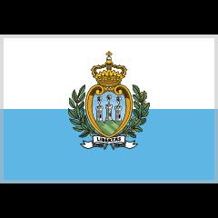 Flag: San Marino on Skype Emoticons 1.2