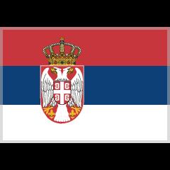 Flag: Serbia on Skype Emoticons 1.2