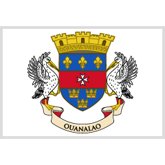 Flag: St. Barthélemy on Skype Emoticons 1.2