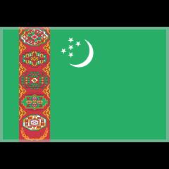 Flag: Turkmenistan on Skype Emoticons 1.2