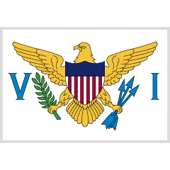 Flag: U.S. Virgin Islands on Skype Emoticons 1.2