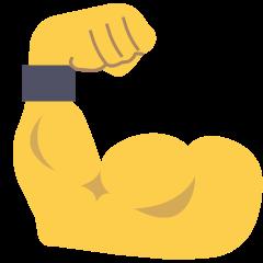Flexed Biceps on Skype Emoticons 1.2