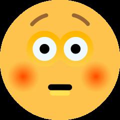 Flushed Face on Skype Emoticons 1.2