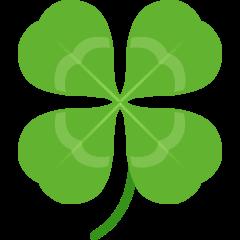 Four Leaf Clover on Skype Emoticons 1.2