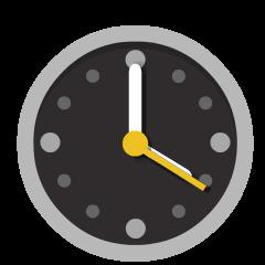 Four O'Clock on Skype Emoticons 1.2