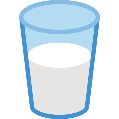 Glass of Milk on Skype Emoticons 1.2