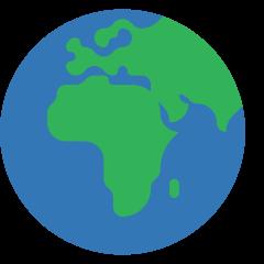 Globe Showing Europe-Africa on Skype Emoticons 1.2
