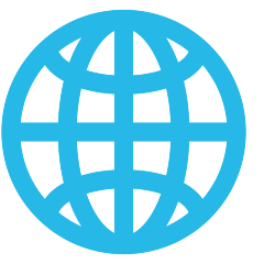 Globe with Meridians on Skype Emoticons 1.2