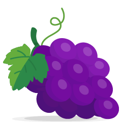 Grapes on Skype Emoticons 1.2