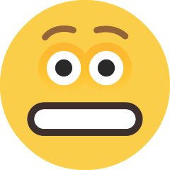 Grimacing Face on Skype Emoticons 1.2