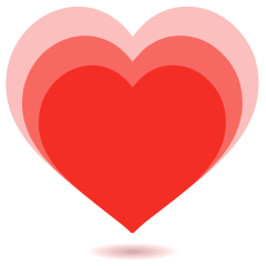 Growing Heart on Skype Emoticons 1.2