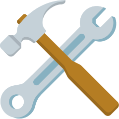 Hammer and Wrench on Skype Emoticons 1.2