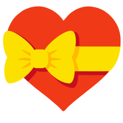 Heart with Ribbon on Skype Emoticons 1.2