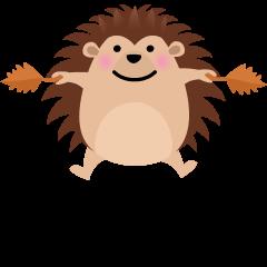 Hedgehog on Skype Emoticons 1.2