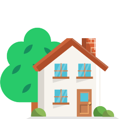 House with Garden on Skype Emoticons 1.2