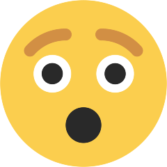 Hushed Face on Skype Emoticons 1.2