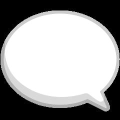 Left Speech Bubble on Skype Emoticons 1.2
