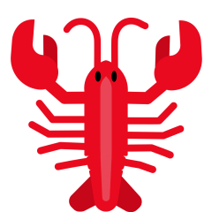 Lobster on Skype Emoticons 1.2