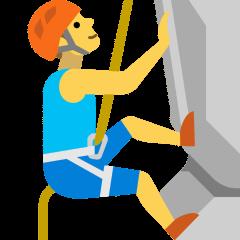 Man Climbing on Skype Emoticons 1.2