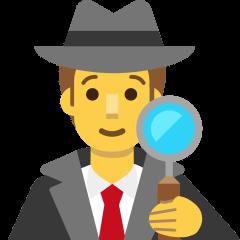 Man Detective on Skype Emoticons 1.2