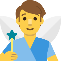 Man Fairy on Skype Emoticons 1.2